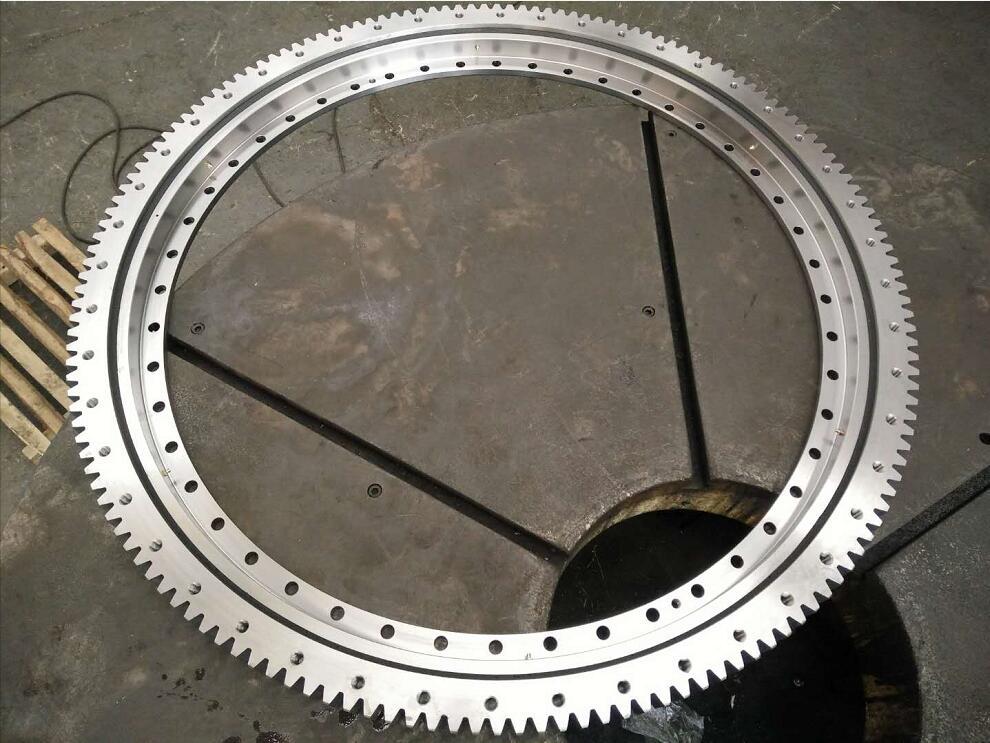 External gear 50Mn slewing bearing of 281.30.1400.013 Rothe Erde slewing ring in stock