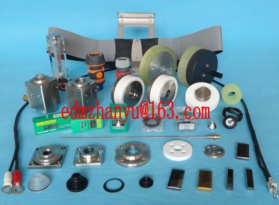 wire guide/power feed contact/filter/nozzle/roller/bearing earing for Sodick wire EDM