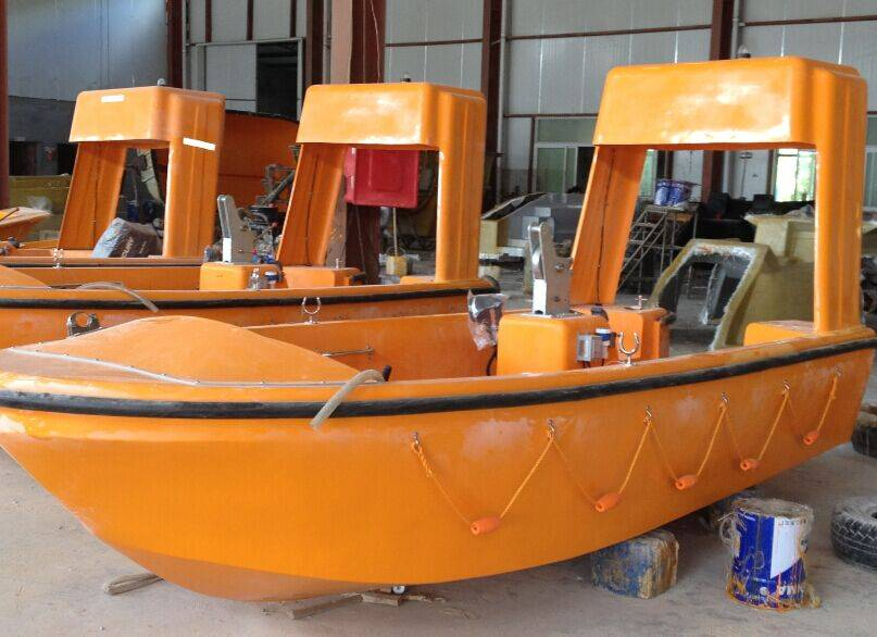 6.5M Life/Open boat Marine rescue boat SOLAS approved