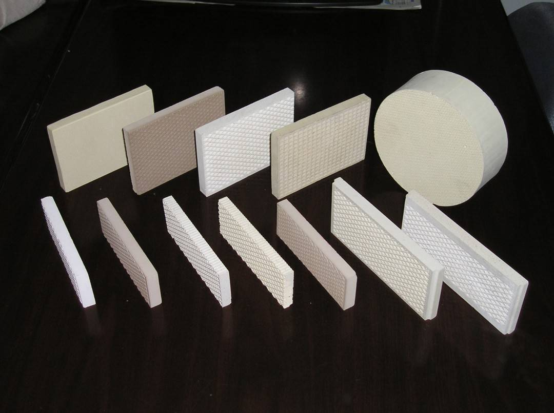 porous infrared gas ceramic honeycomb plate