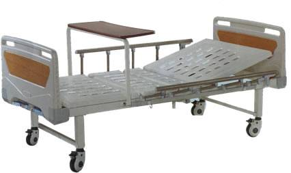 ABS bed head two crank hospital bed(order no:HD-E9)