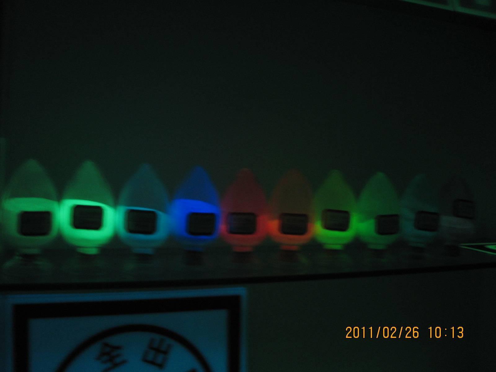 luminescent pigments