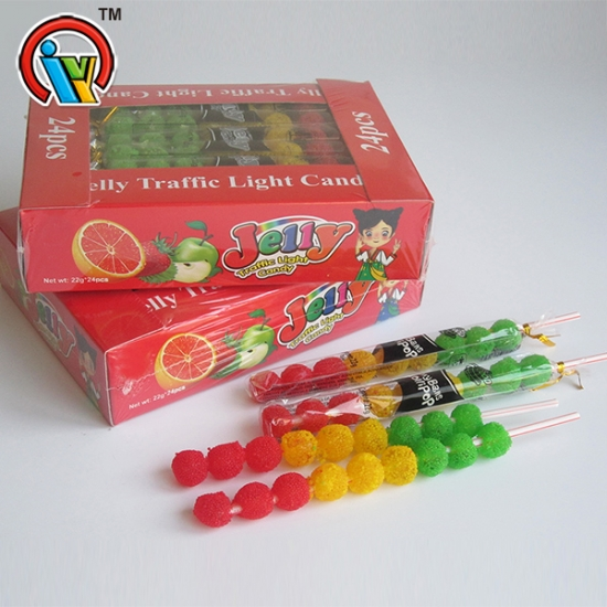 Fruity Chewing Gummy Candy Waxberry Shape Soft Candy