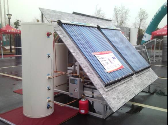 Split Solar Energy Heating System