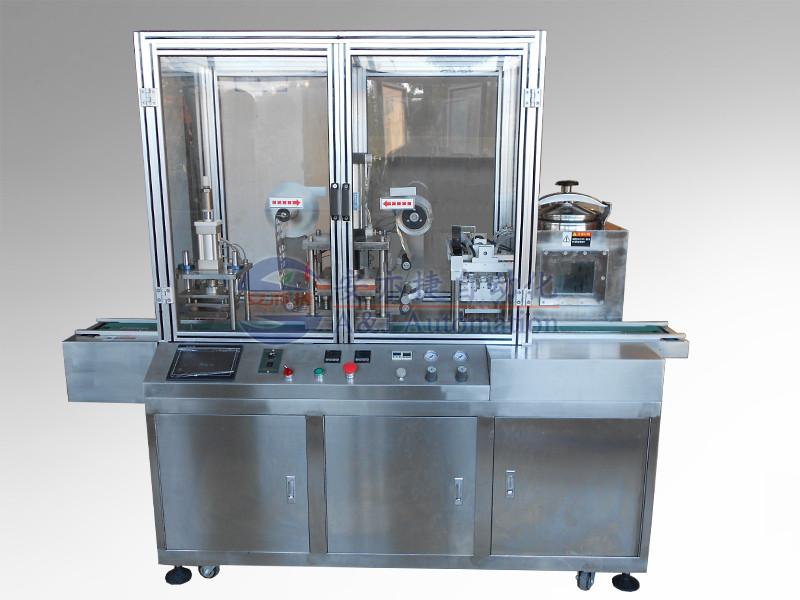Automatic Cuvettes Filling and Sealing Machine