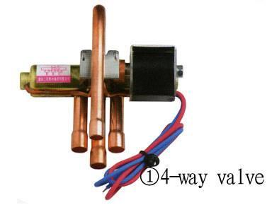 4-way reversing solenoid valves,4 way valve, 4 way reversing valve,4 way solenoid valve