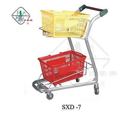 cart for hand basket/ cart for basket/ shopping basket cart/ hand basket cart