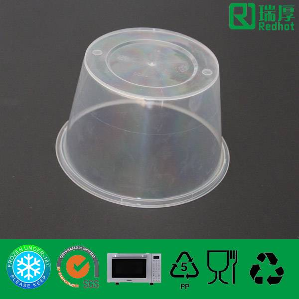 Plastic (PP) Food Container Professional Manufacture in China (450Ml)