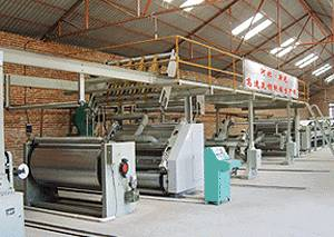 WJ-120-2000 Series of Five-Layered Corrugated Aerboard Production Line,competitive price