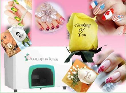 Digital Multifunctional Flower Nail Printer