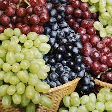 Fresh green,yellow,red Grapes for sale