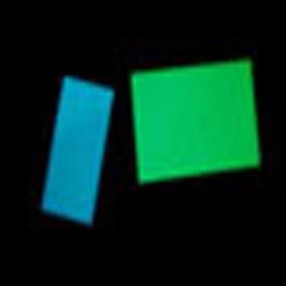 photoluminescent rigid board