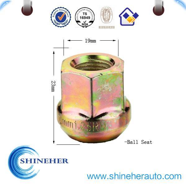 M12 hex nut with flange for USA market