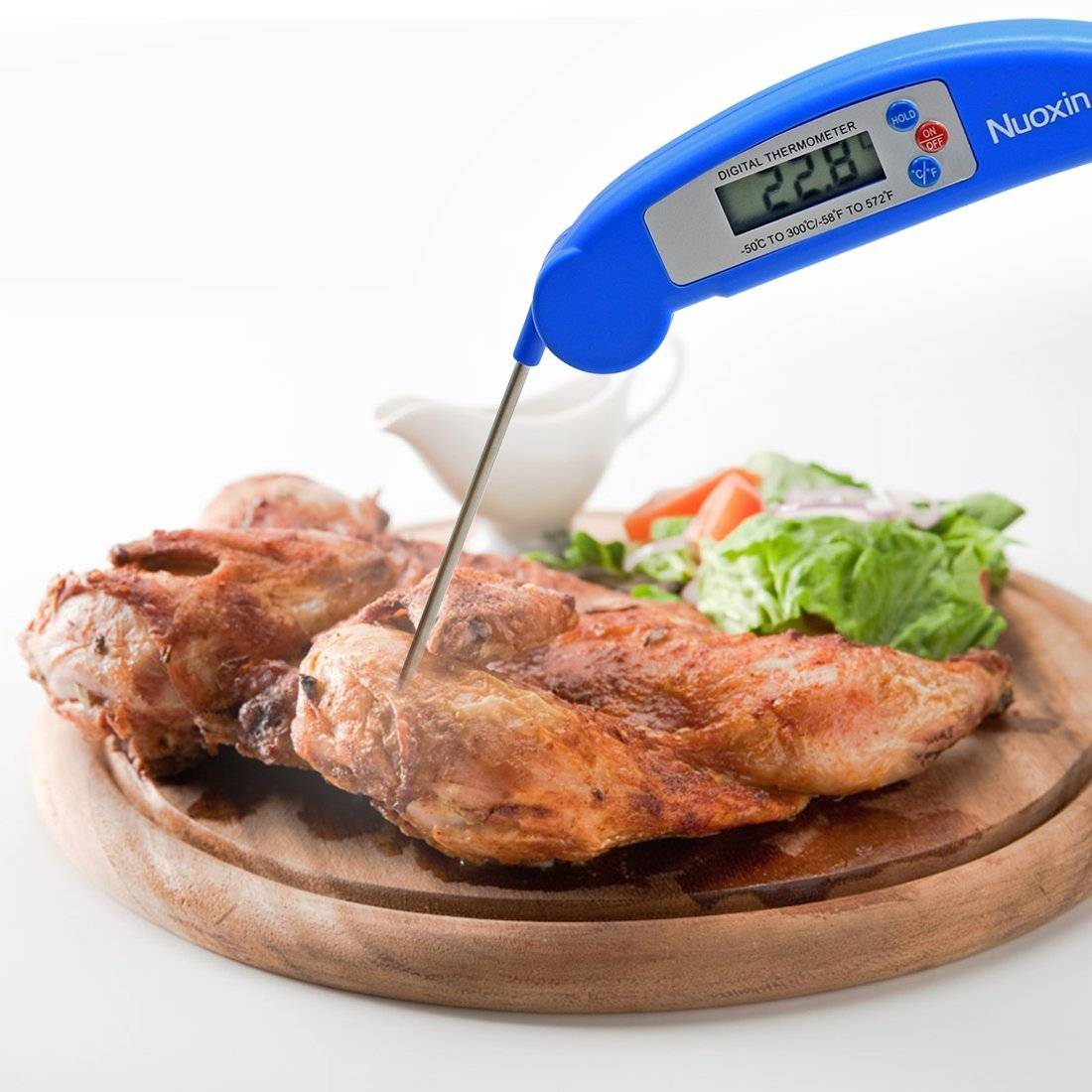 Digital Food Thermometer for Cooking Kitchen BBQ
