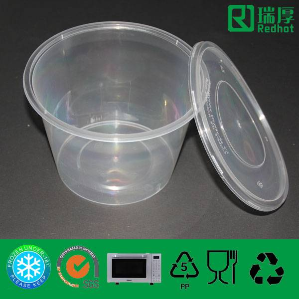 Microwave Safe Plastic Food Container 1750ml
