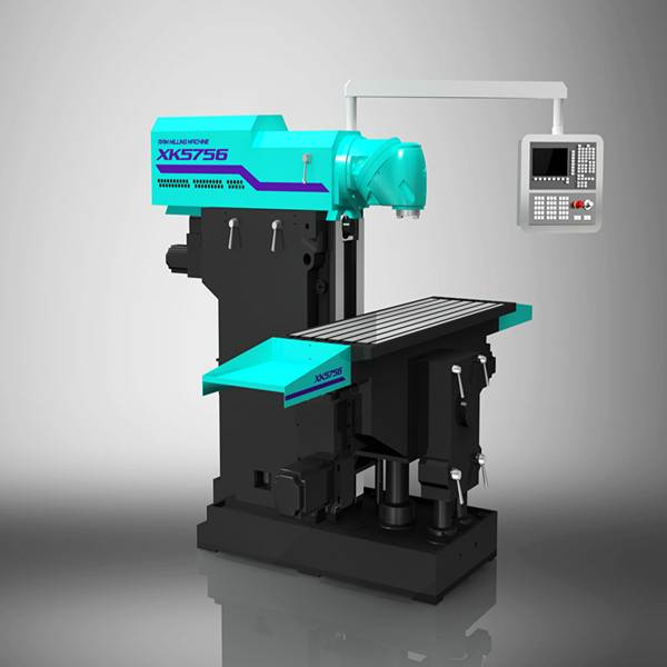 XK5756 ram type universal cnc milling machine