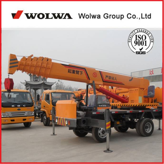 GNQY-Z5-1 5 Tons knuckle boom truck mounted crane