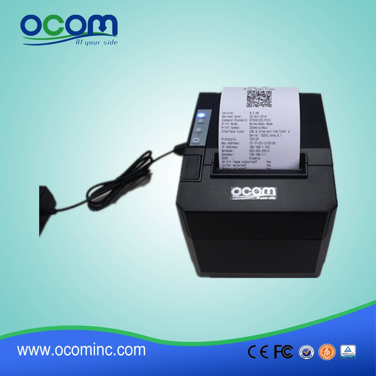 OCPP-88A: kitchen application wireless thermal printer android usb