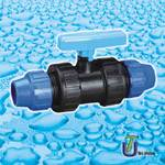 PE-PE Compression Ball Valve