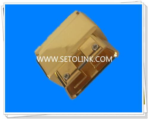 Sale Golden Plated Metal OBDII 16 Pin Male Connector