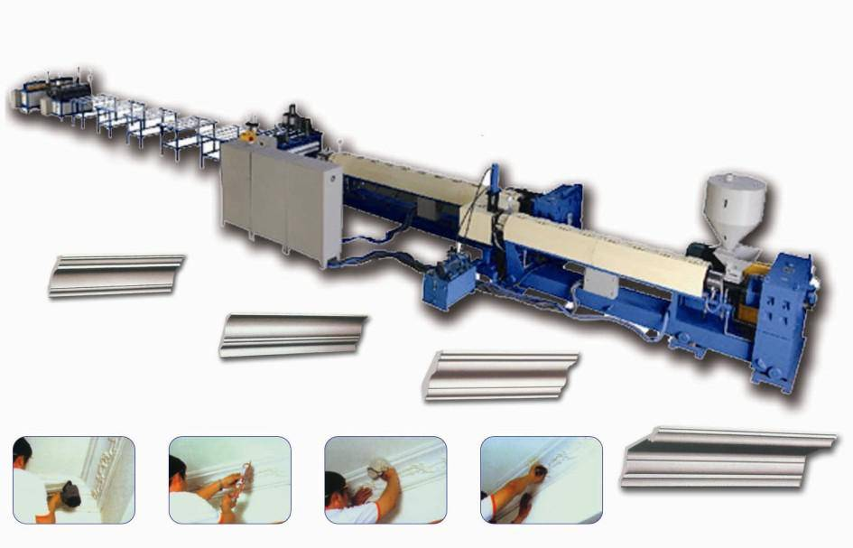 XPS Extruding Cornices Machinery