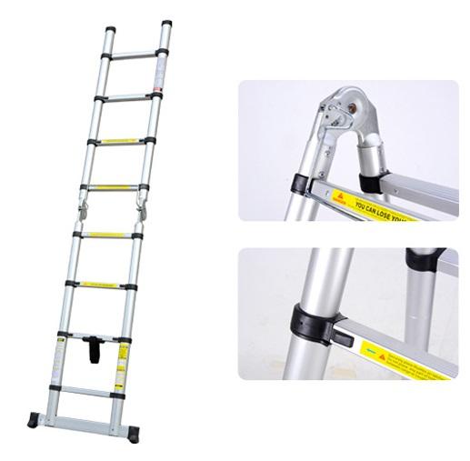 Magic telescopic ladder