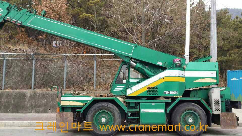 Used 16T TADANO R/T Crane TR160 1990
