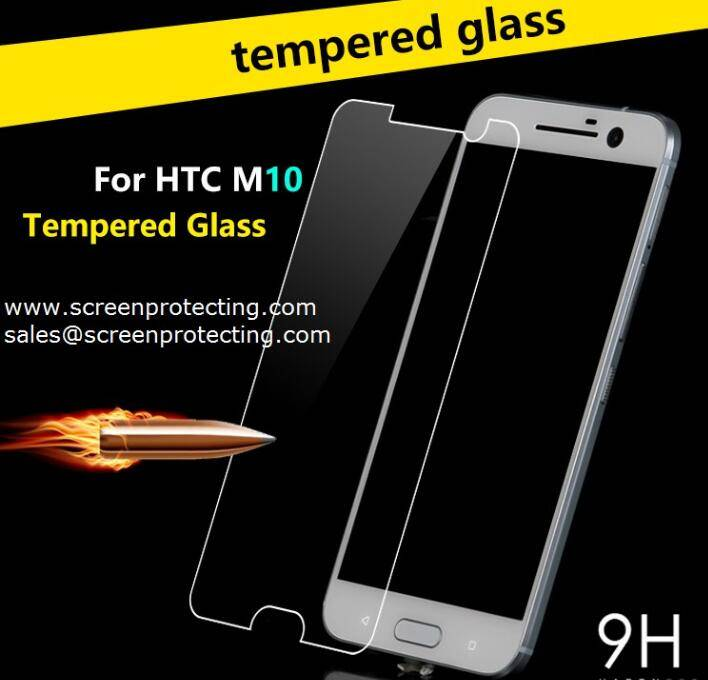 Wholesale 9H Tempered Glass LCD Screen Protector for HTC One M10