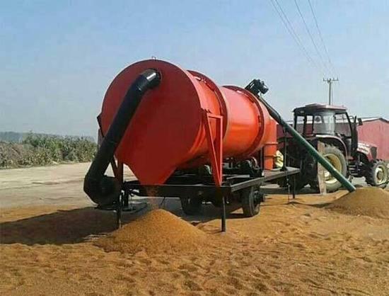 maize corn dry machine