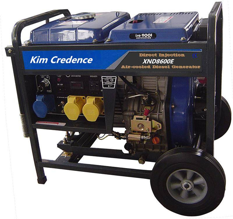 8KW Diesel generator electric start with high quality