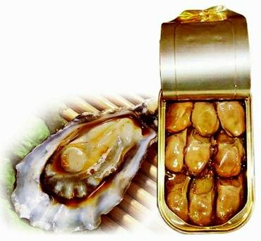 Canned Smoked Oyster in Oil(100g)