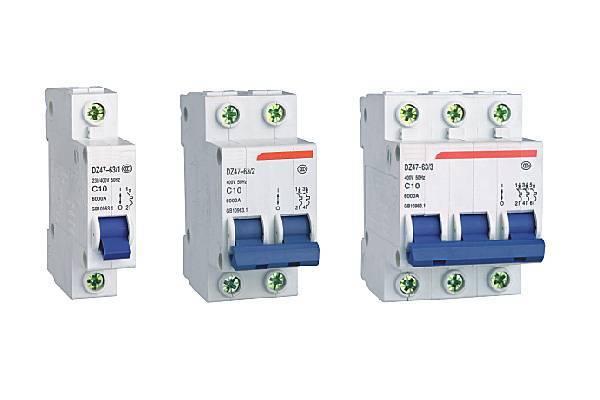DZ47(C45) mini circuit breaker(MCB)