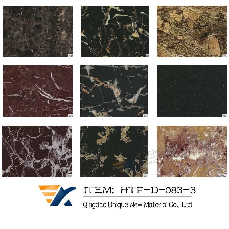 Marble transfer foil , Wood grain transfer foil ,WPC transfer foil, floor transfer foil