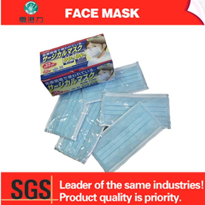 non woven face mask in medical