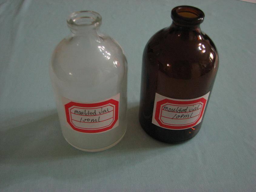 100ml moulded bottle