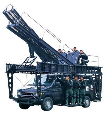 Anti-Terror Penetration Vehicle