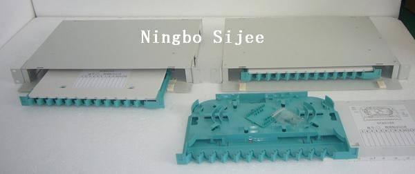 Offer 1U 12cores fiber optic Distribution Box,Fiber Enclosue ODF box