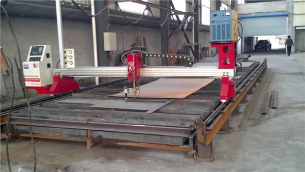 gantry cnc plasma cutting table