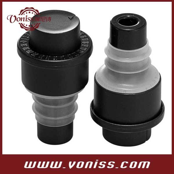 Wine Stopper With Wine Preserver Vacuum Pump With Date Indicator