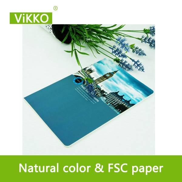 Paper cover school exercise books