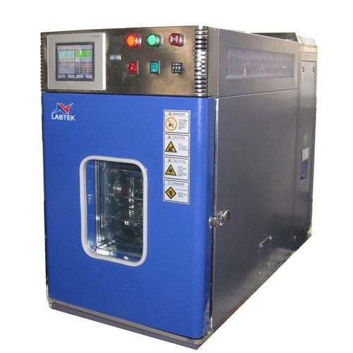 Benchtop temperature test chamber