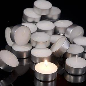 TEALIGHT CANDLES RSPO PALM WAX