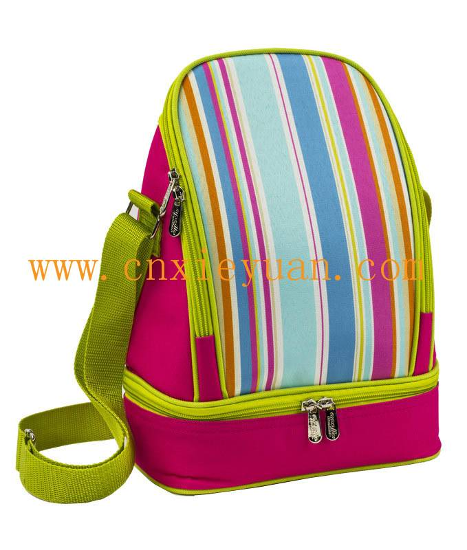 600D fashion Lunch Picnic Cooler bag
