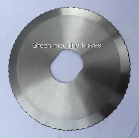 Circular Scallop Slicer Blades