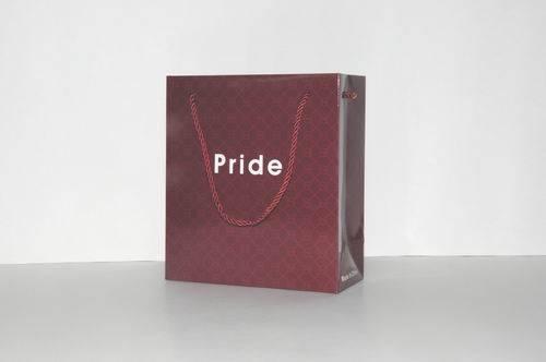 Custom high quality gift paper bag