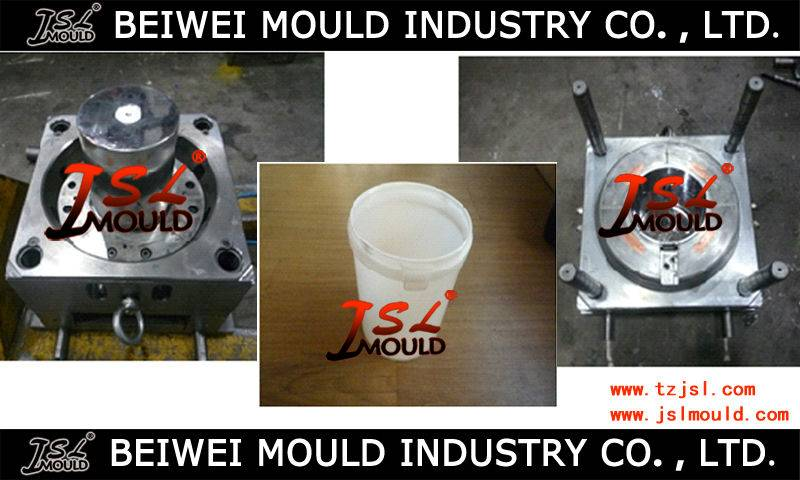 Custom Plastic Paint Bucket Injection Mould