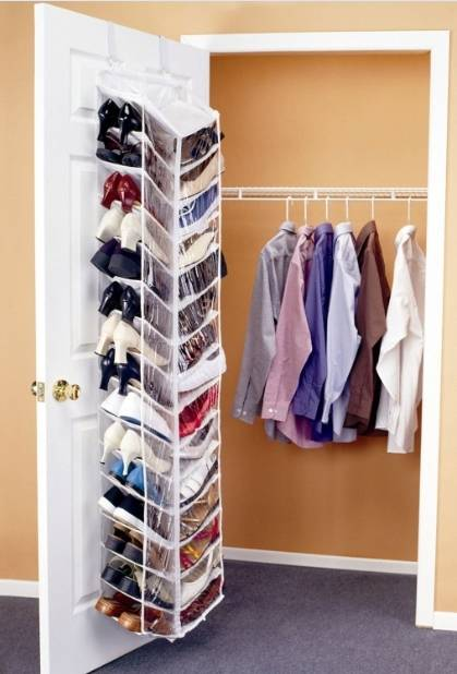 30 Pockets Hanging Door Shoe Away
