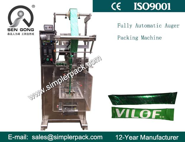 Fully Automatic Auger Filler Packaging Machine