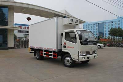 2.5m length Dongfeng small freezer box van (CLW5041XLC4)