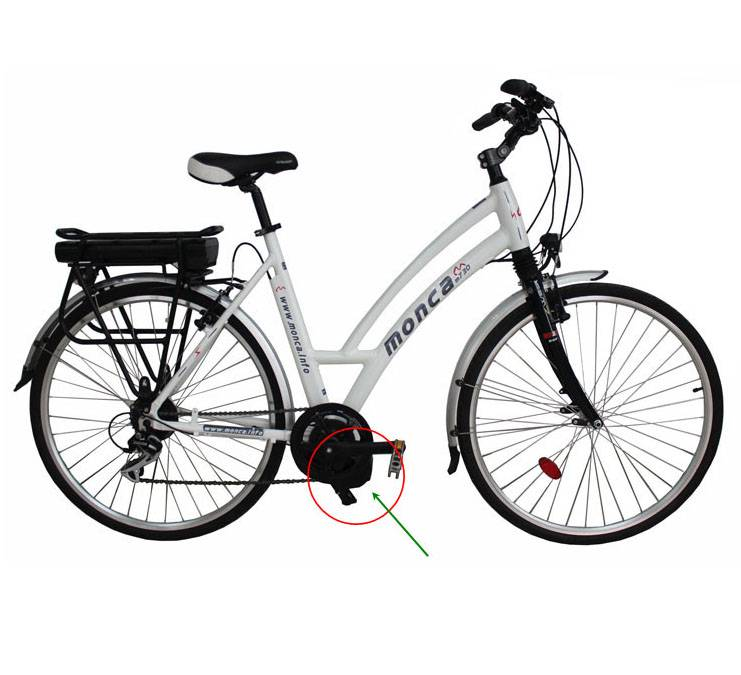 Electric Bicycle with New Lithium Battery